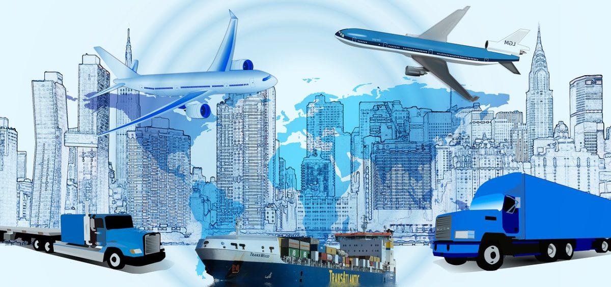 medios de transporte para logística