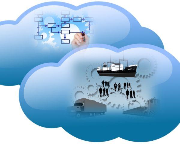 log´sitica en la nube o cloud