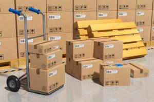 almacenar mercancía