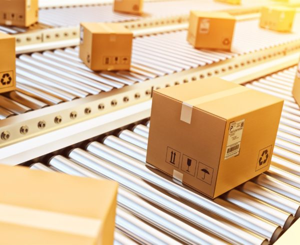 packaging en almacén