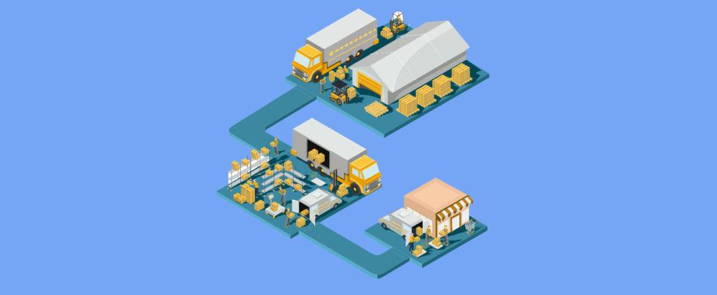 fases de la logística urbana