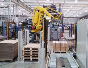 sistema de almacenaje robotizado