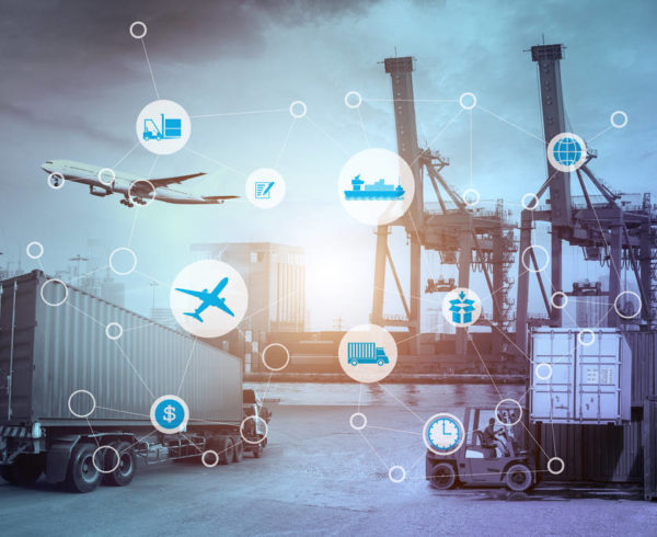medios de transporte logístico para la logística anticipada