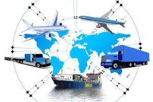 medios de transporte logística internacional