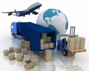 transporte logístico de una empresa