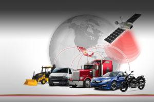 medios de transporte y satélite