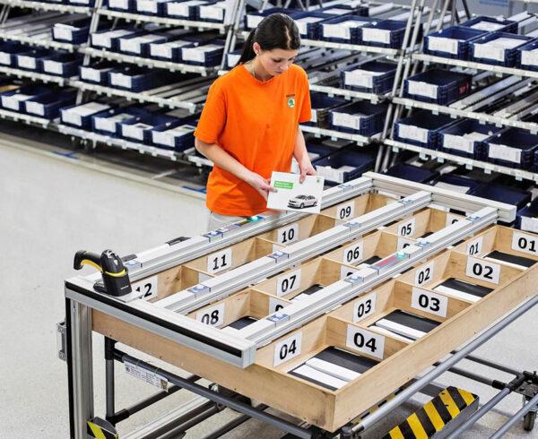 logística de producción