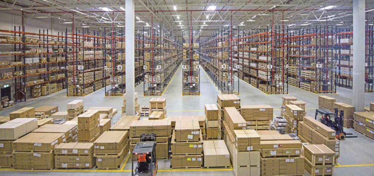 logística de aprovisionamiento